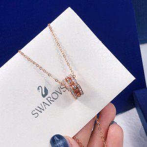 Swarovski Simple Transfer Bead Necklace